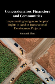 Transnational Development Projects, Private Mechanisms and the Rule of Law