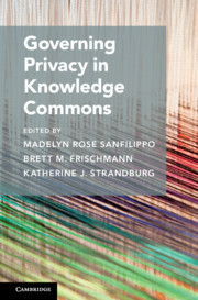 Governing Privacy in Knowledge Commons