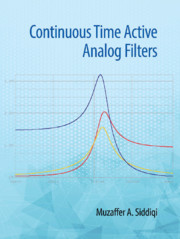 Continuous Time Active Analog Filters