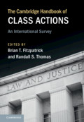 The Cambridge Handbook of Class Actions