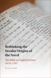 Rethinking the Secular Origins of the Novel