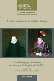 An Account of an Elizabethan Family