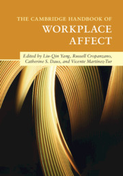The Cambridge Handbook of Workplace Affect