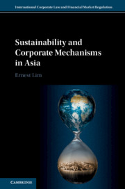 Sustainability and Corporate Mechanisms in Asia