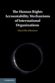 The Human Rights Accountability Mechanisms of International Organizations