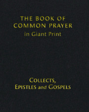 Book of Common Prayer Large Print, CP800