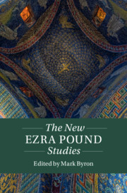 The New Ezra Pound Studies