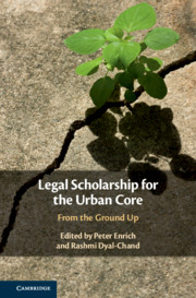 Legal Scholarship for the Urban Core