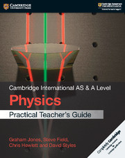 Cambridge International AS & A Level Physics