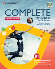 Complete Preliminary for Schools Italian Edition