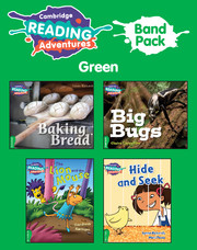 Cambridge Reading Adventures Green Band Pack