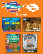 Cambridge Reading Adventures Orange Band Pack