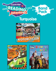 Cambridge Reading Adventures Turquoise Band Pack