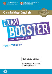Cambridge English Exam Booster with Answer Key for Advanced - Self-study Edition