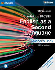 Cambridge IGCSE® English as a Second Language Teacher's Book with Audio CDs (2) and DVD