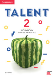 Talent Level 2 Workbook with Online Practice