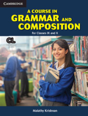 A Course in Grammar and Composition for Classes IX and X Student's Book with App