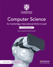 Cambridge International AS and A Level Computer Science Coursebook with Cambridge Elevate Edition (2 Years)