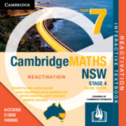 Cambridge Maths Stage 4 NSW Year 7 Reactivation (Card)