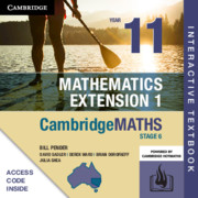 Cambridge Maths Stage 6 NSW Extension 1 Year 11 Digital (Card)