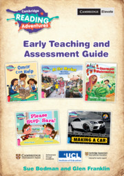 Cambridge Reading Adventures Pink A to Blue Bands Early Teaching and Assessment Guide with Cambridge Elevate