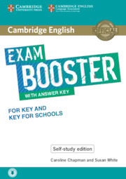 Cambridge English Booster with Answer Key for Key and Key for Schools - Self-study Edition