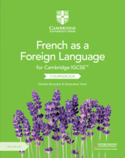 Cambridge IGCSE™ French as a Foreign Language Coursebook with Audio CDs (2)
