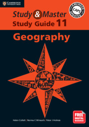 Study and Master Geography Study Guide Grade 11