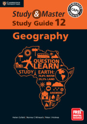 Study and Master Geography Study Guide Grade 12