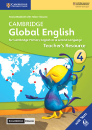 Cambridge Global English Stage 4 Teacher's Resource with Cambridge Elevate