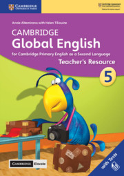 Cambridge Global English Stage 5 Teacher's Resource with Cambridge Elevate