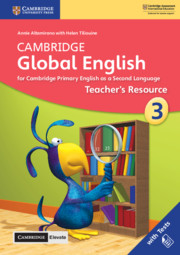 Cambridge Global English Stage 3 Teacher's Resource with Cambridge Elevate