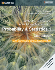 Probability & Statistics 1 Coursebook with Cambridge Online Mathematics (2 Years)