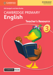 Cambridge Primary English Stage 3 Teacher's Resource with Cambridge Elevate