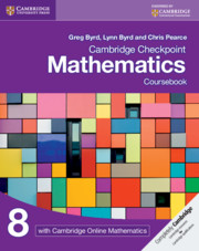 Cambridge Checkpoint Mathematics Coursebook 8 with Cambridge Online Mathematics (1 Year)