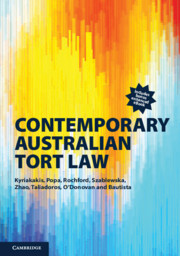 Contemporary Australian Tort Law