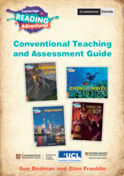 Cambridge Reading Adventures Pathfinders to Voyagers Conventional Teaching and Assessment Guide with Cambridge Elevate