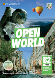 Open World First Student's Book Pack (SB wo Answers w Online Practice and WB wo Answers w Audio Download)