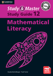 Study and Master Mathematical Literacy Study Guide Grade 12