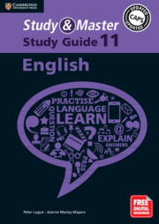 Study and Master English Study Guide Grade 11