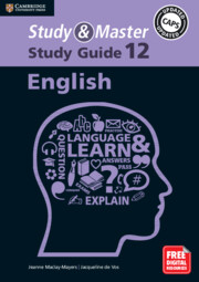 Study and Master English Study Guide Grade 12