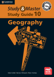 Study and Master Geography Study Guide Grade 10
