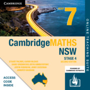 Cambridge Maths Stage 4 NSW Year 7 Online Teaching Suite (Card)