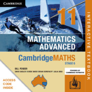 Cambridge Maths Stage 6 NSW Advanced Year 11 Digital (Card)