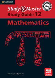 Study and Master Mathematics Study Guide Grade 12 (Blended) English