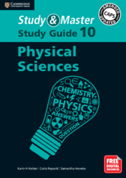 Study and Master Physical Sciences Study Guide Grade 10