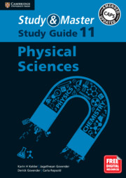 Study and Master Physical Sciences Study Guide Grade 11