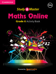 Study and Master Maths Online Grade 6 Activity Book powered by HOTMaths