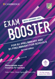 Cambridge Exam Boosters for the Revised 2020 Exam 2nd Edition