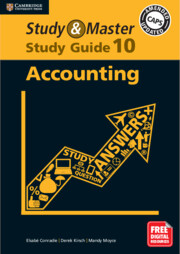Study and Master Accounting Study Guide Grade 10